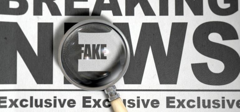 """Imagem ilustrativa da matéria Não caia em """"fake news"""""""