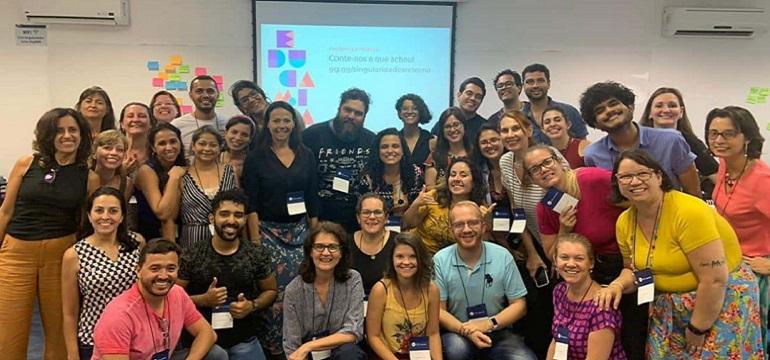 Imagem ilustrativa da matéria Curso de verão do EducaMídia reúne 40 educadores em São Paulo