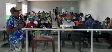 Imagem ilustrativa da matéria EducaMídia realiza oficina de educação midiática com jovens e lideranças Kayapó